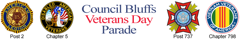 Council Bluffs Veterans Day Parade